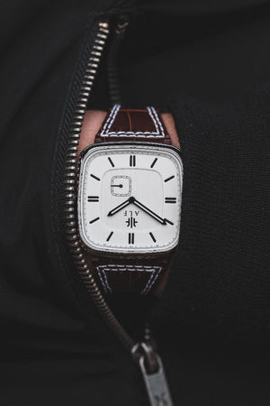 Norrsken - Steel/White - Alf Watch Company