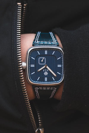 Norrsken - Steel/Blue - Alf Watch Company