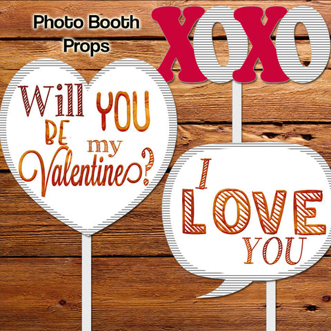 Happy Valentines Day Party Of 2 Party Essentials Photo Booth