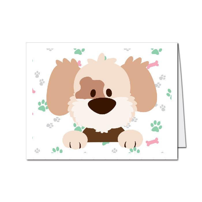 Puppy Party - Party Invitations - 8 pack – MyPaperDot