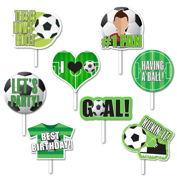 Soccer - Props - 8 pack – MyPaperDot