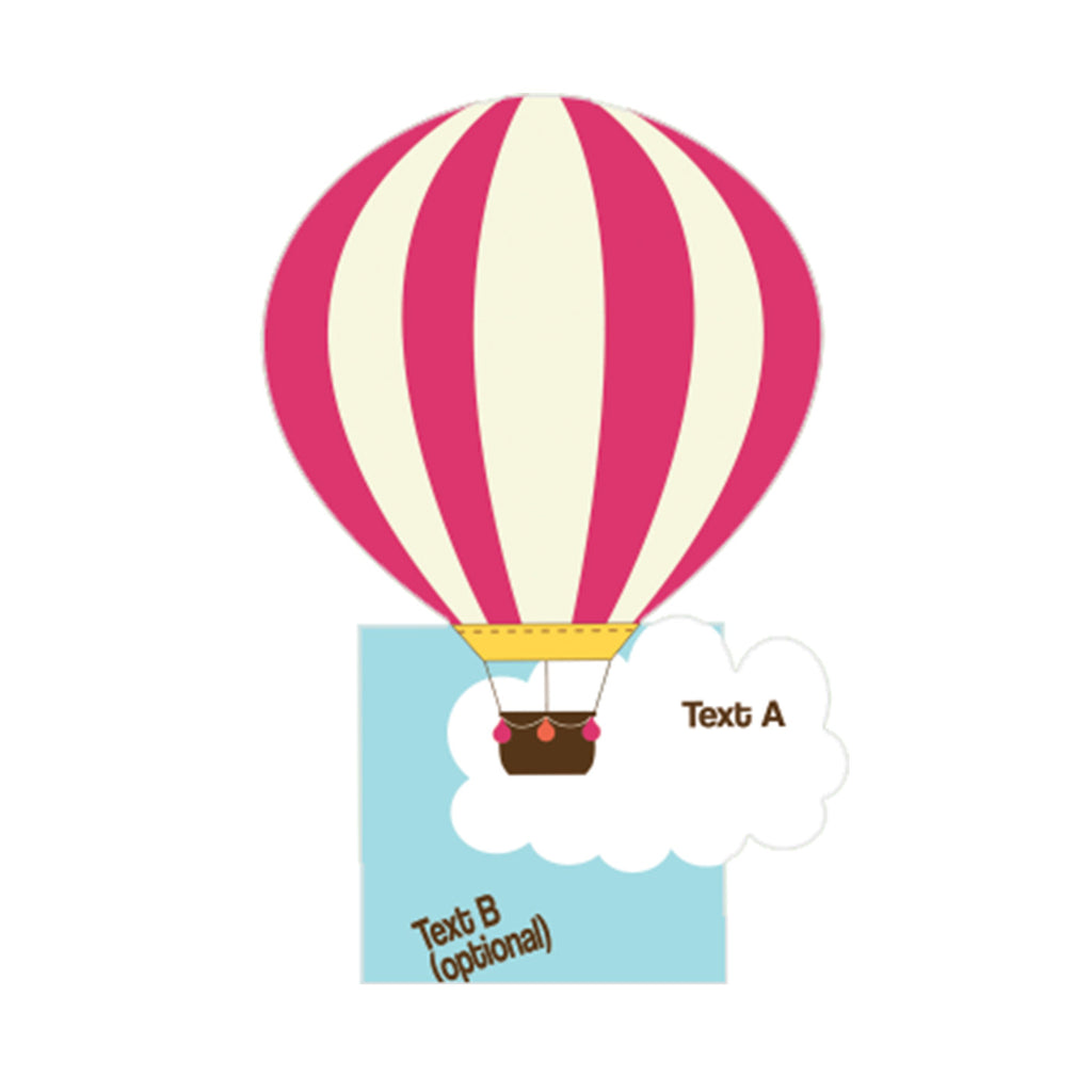 Favor Box - Hot Air Balloon Party – MyPaperDot