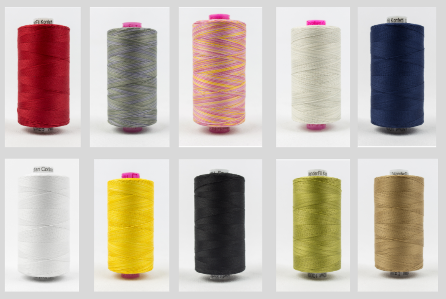 Thread Bundle!   Debby's Favorite Quilting Threads (cones)