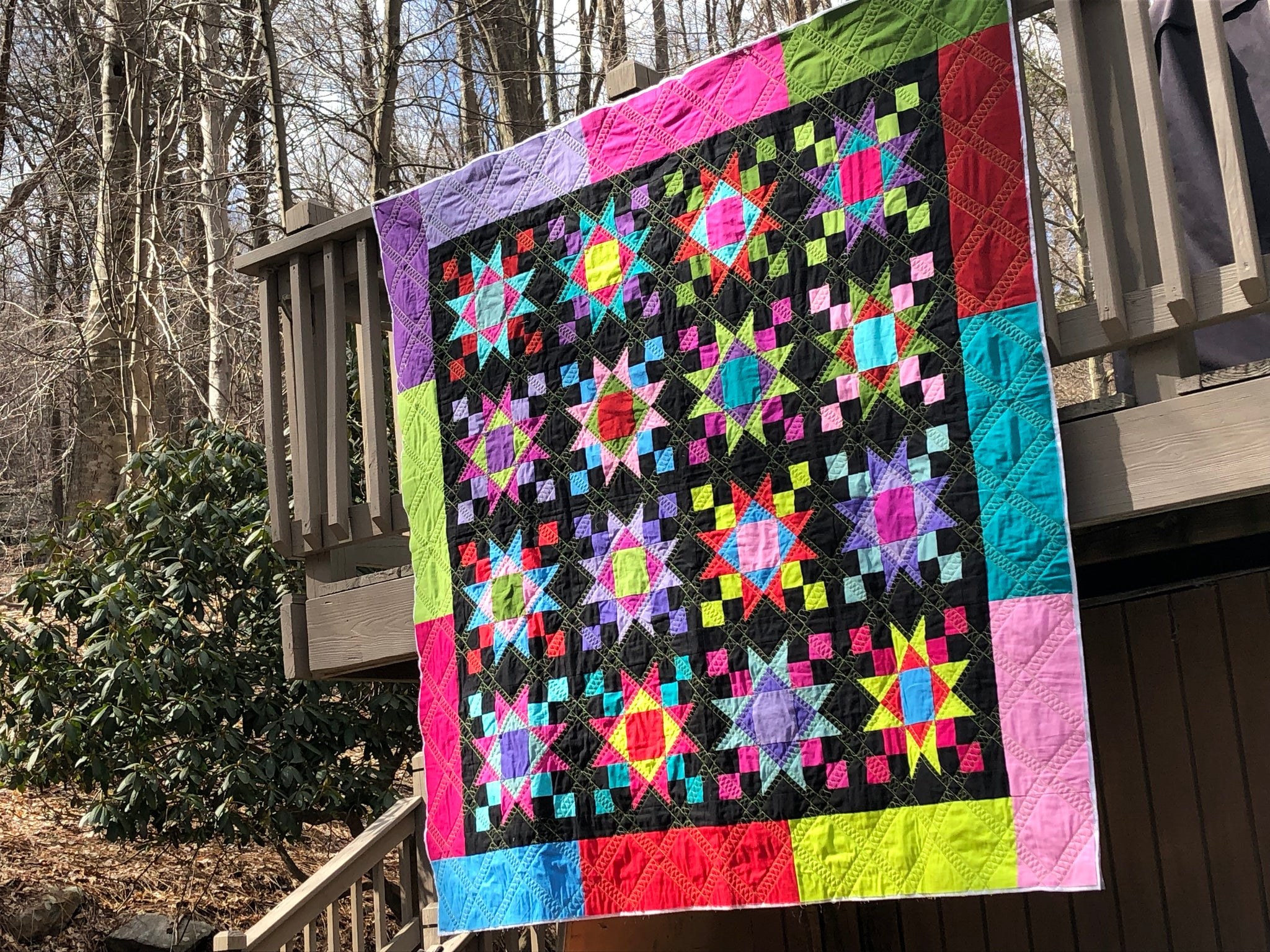 Forever In Peace Cutie Quilt Kit featuring Wilmington Solids