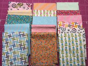 My Little Sunshine 2 fat quarters
