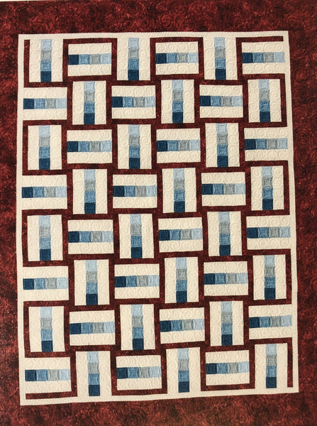 Roman Candle Quilt Kit -- PATTERN NOT INCLUDED