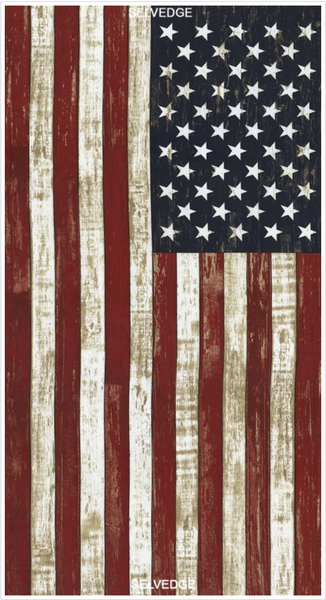 American Flag Panel by Timeless Treasures