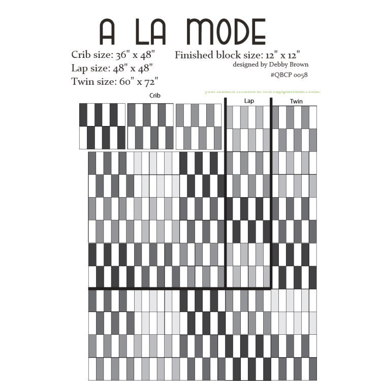 A La Mode Cutie Pattern