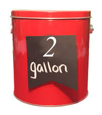 2 Gallon Tins
