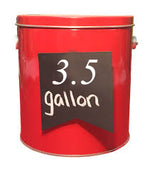3.5 Gallon Tins