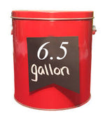 6.5 Gallon Tin
