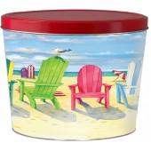 Beach Chairs 2 Gallon Tin