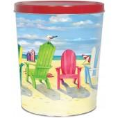 Beach Chairs 3.5 Gallon Tin