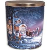 Winter Wonderland 6.5 Gallon Tin