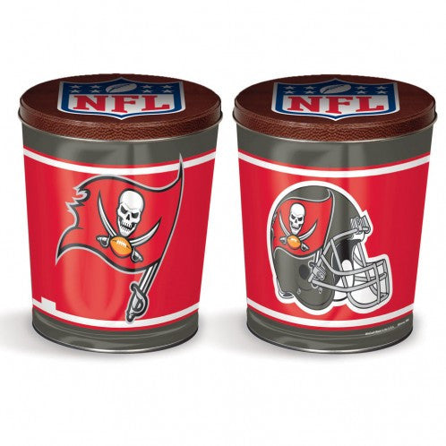 Tampa Bay Buccaneers Gift Tin tapered 3 gallon