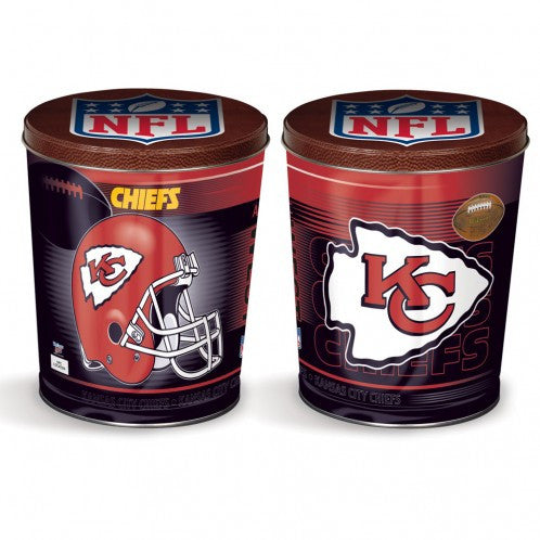 Kansas City Chiefs Gift Tin tapered 3 gallon