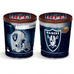 Oakland Raiders Gift Tin tapered 3 gallon