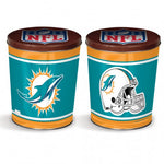 Miami Dolphins Gift Tin tapered 3 gallon