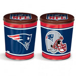 New England Patriots Gift Tin tapered 3 gallon