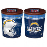 San Diego Chargers  Gift Tin tapered 3 gallon