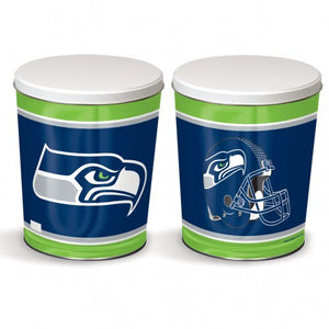 Seattle Seahawks Gift Tin tapered 3 gallon