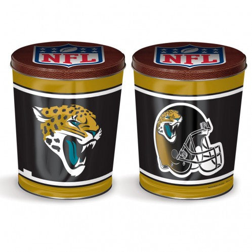 Jacksonville Jaguars Gift Tin tapered 3 gallon