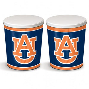 Auburn University Gift Tin tapered 3 gallon