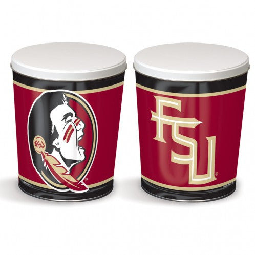 Florida State University Gift Tin tapered 3 gallon