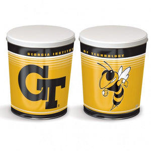 Georgia Tech 3 Gallon tin