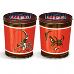 Cleveland Browns Gift Tin tapered 3 gallon