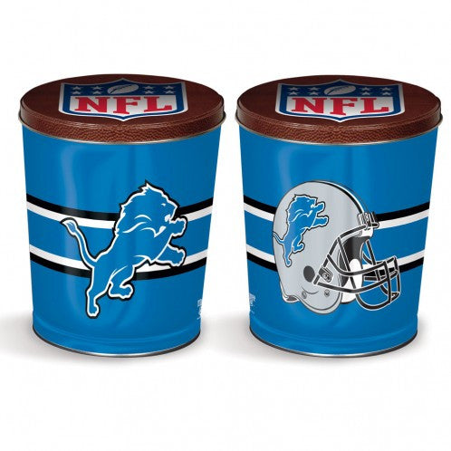 Detroit Lions Gift Tin tapered 3 gallon