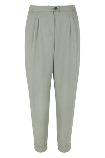 Cropped Virgin Wool Trousers Alissa