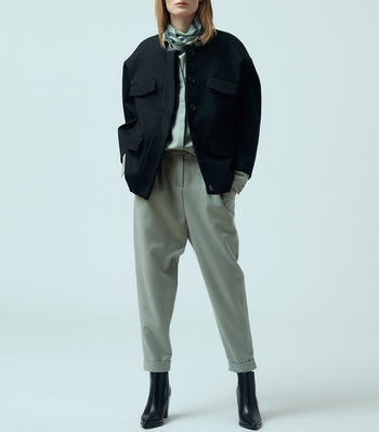 "Cropped Wool Trousers """"Alissa"""