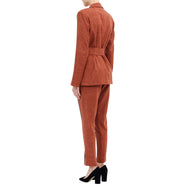 Belted Long Blazer - Philomena Zanetti
