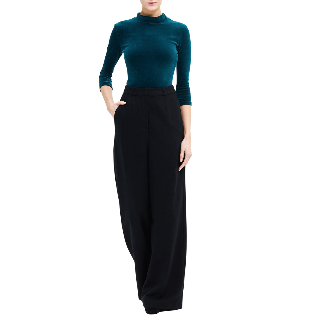 Virgin Wool Marlene Pants