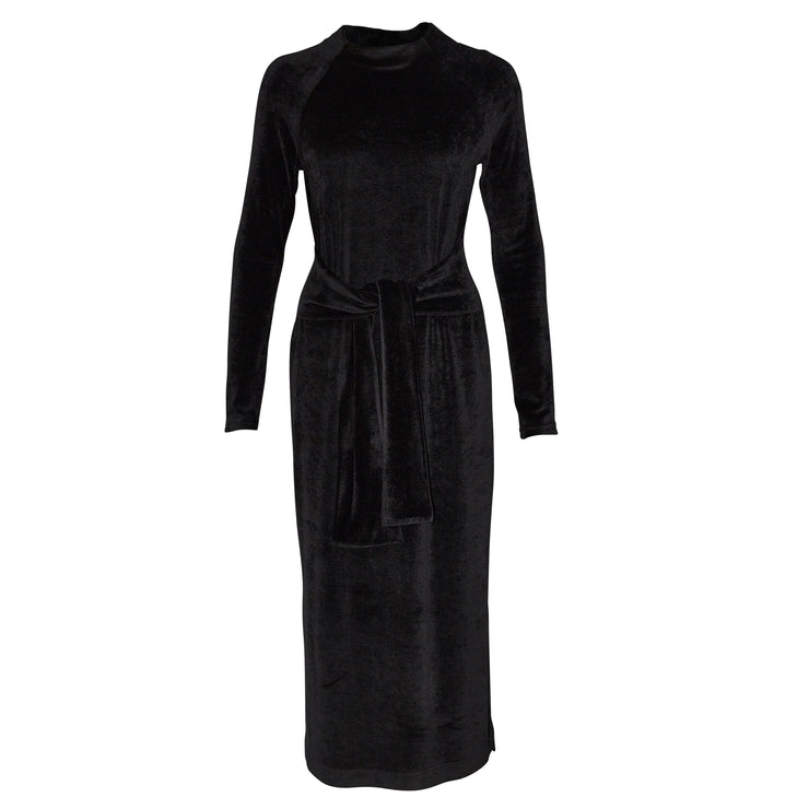 Ribbon Velvet Midi Dress - Philomena Zanetti