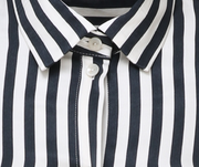 Striped Wrap Shirt - Philomena Zanetti