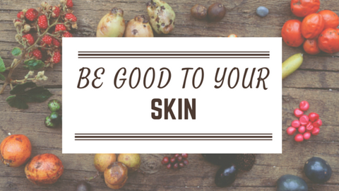 Be good to your skin. Beautiful youthful skin