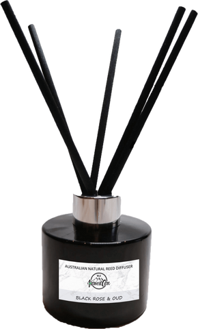 Black Rose and Oud Reed Diffuser