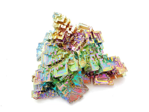 bismuth crystal - Bismuth - bismuth geode - healing crystals and stones - rainbow bismuth crystal - healing stones 19