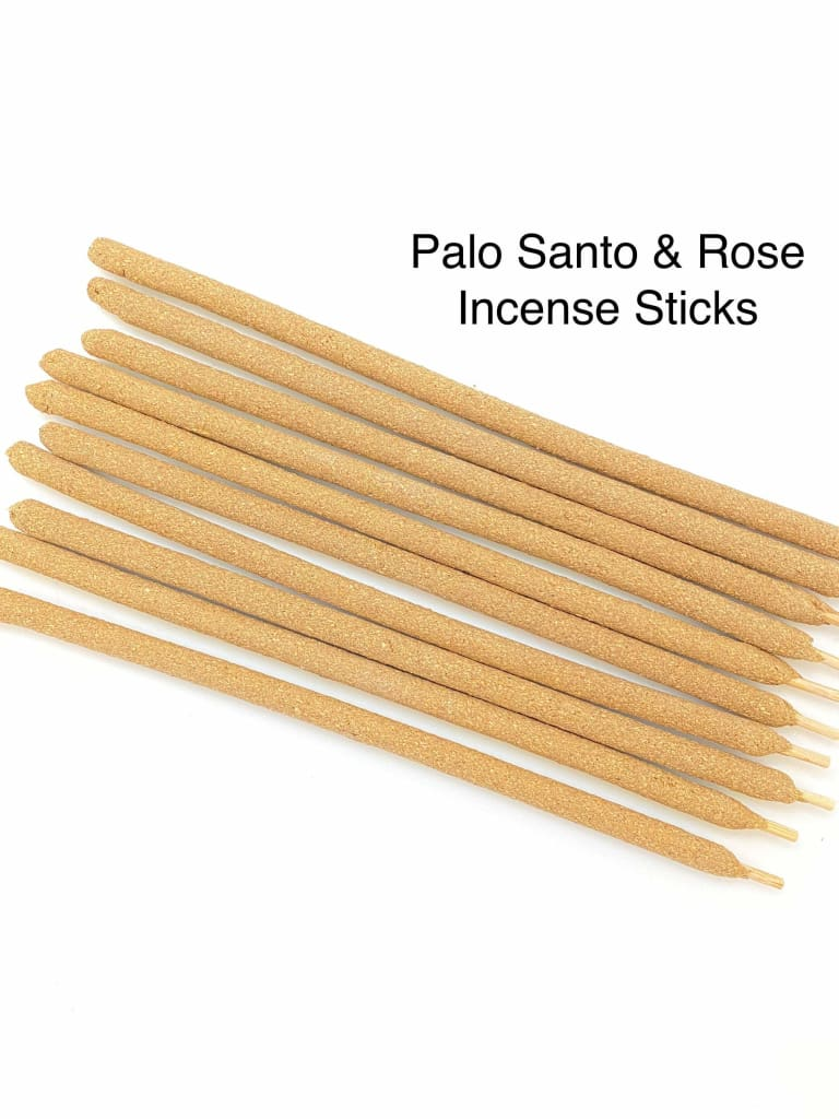 Rose Palo Santo Incense Sticks Palo Santo Wood Rose Incense Pa New Moon Beginnings