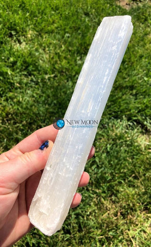 Raw Selenite Log (8