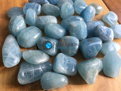 Aquamarine Tumbled Stone - New Moon Beginnings - 4