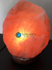 Pink Himalayan Salt Lamp - New Moon Beginnings - 5