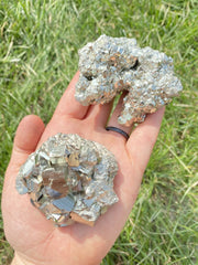 Raw Pyrite Cluster - Grade A