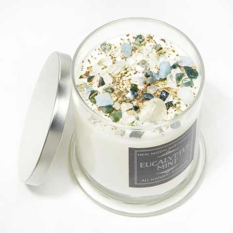 Eucalyptus Mint Candles - 6 Sizes Available!