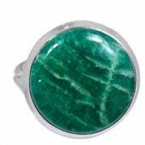 Amazonite Ring Size 9.5 Ring Sterling Silver Ring - Amazonite Crystal Ring - Amazonite Jewelry - Amazonite Stone Ring - Healing Crystals 590