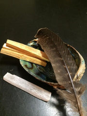 Smudge kit with Palo Santo Wood - New Moon Beginnings - 2