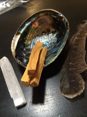 Smudge kit with Palo Santo Wood - New Moon Beginnings - 5