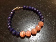 Anxiety and Happiness Bracelet - New Moon Beginnings - 1